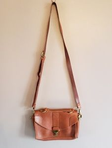 Madewell 1937 Crossbody Cognac Leather Purse